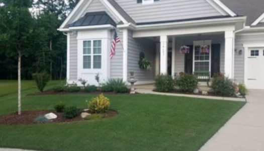 lovely Charlotte home with green lawn