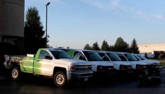 fleet of ExperiGreen vehicles