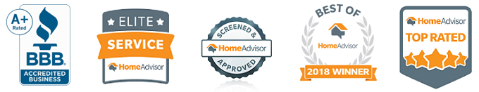 HomeAdvisor badges