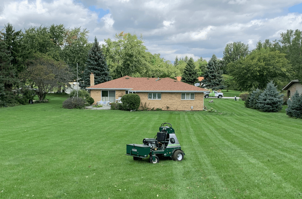 The Benefits of Aerating & Overseeding Your Lawn