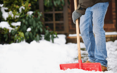 How To Shovel Snow Safely