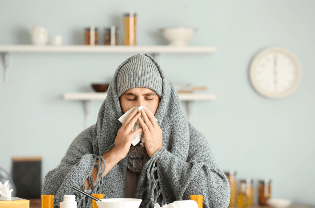 How Do We Catch Colds in Winter