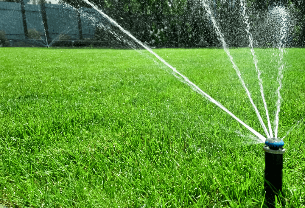 Watering Your Lawn With Sprinklers