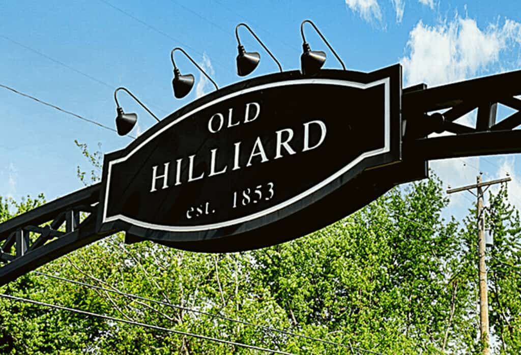 Old Hilliard Ohio