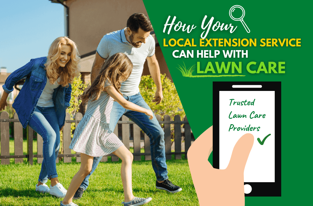 Local Extension Service Can Help with Lawn Care