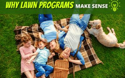 Reasons Why Lawn Programs Make Sense
