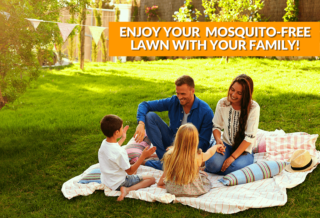 Enjoy Mosquito Free Outdoor Space
