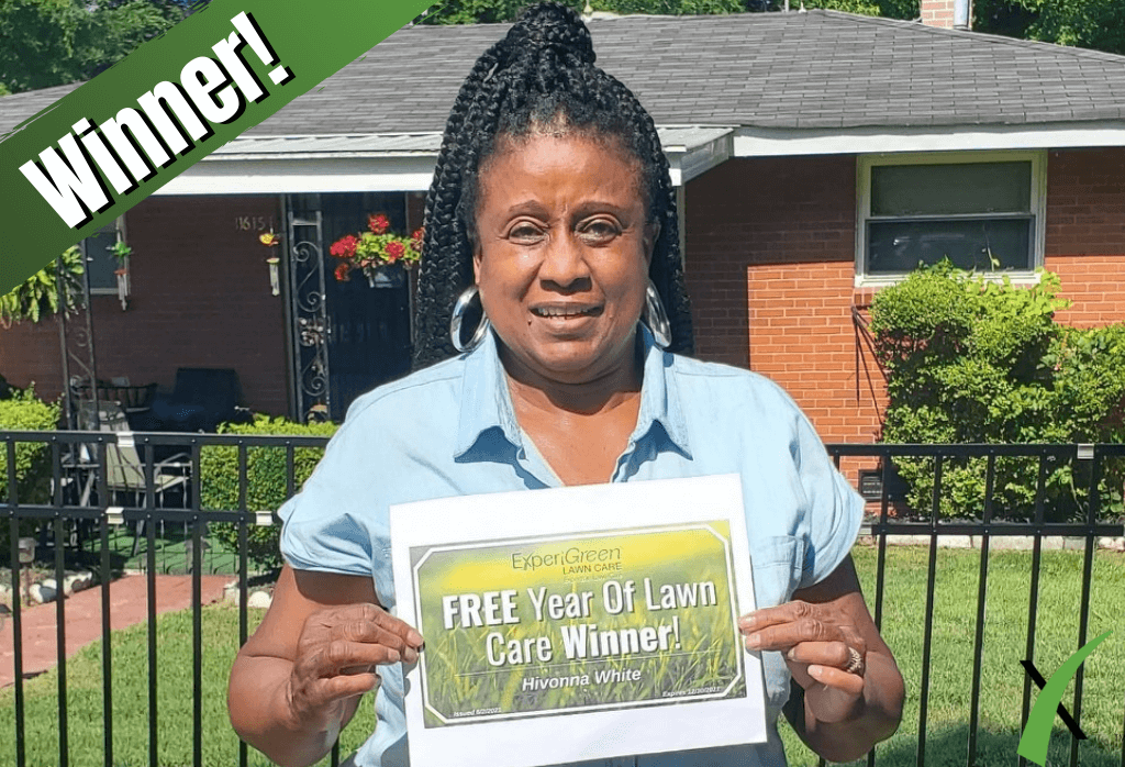 ExperiGreen One Year Of Free Lawn Care Giveaway Winner- Retail Box